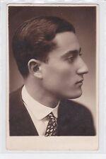 ANTICA FOTO DI ZUCCARO ANDREA  CON DEDICA SUL RETRO AD AMICO - CATANIA 1928
