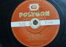 78 rpm LAURIE JOHNSON  drum crazy [ with paul seaman ] / jamboree