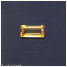 Baguette Yellow Citrine From Brazil VVS 2.34ct. Single Stone.