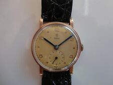 Authentic Gents 9ct gold Tudor by Rolex watch, working
