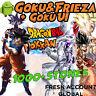 🌟Dokkan Battle - Goku&Frieza LR + Goku UI with 1000+ Dragon Stones Fresh Global