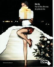 Publicité Advertising 059  2007    bas & collants Dim Up