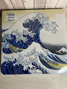 SEALED THE GREAT WAVE JIGSAW PUZZLE KATSUSHIKA HOKUSAI 1000 PIECES JAPAN ARTIST