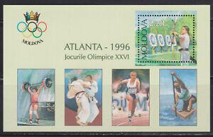 Moldova mint  s/s  - Olympic Games Atlanta 1996