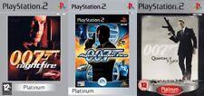007 james bond  quantum of solace & agent under fire & nightfire  PS2 PAL