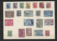uruguay early stamps  ref 7334