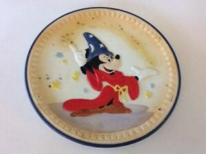 FANTASIA SORCERERS APPRENTICE GOLDEN ANNIVERSARY PLATE MICKEY MOUSE