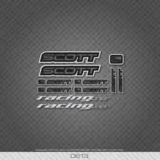 0613 Scott Racing Junior Bicycle Frame Stickers - Decals - Transfers