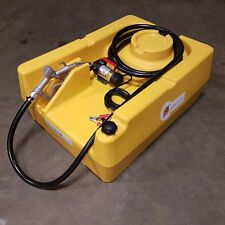 LOW PROFILE TRANSPORTABLE DIESEL BOWSER, 220L FUEL TANK. DIESEL TANK,