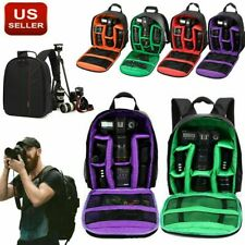 Camera Bag Backpack for Canon EOS Sony Nikon DSLR Digital Waterproof Shockproof