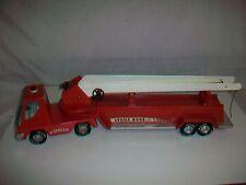 Vintage NYLINT Aerial Hook-N-Ladder Firetruck Fire Truck