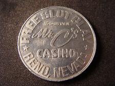 Mr. C's Casino token gf free slot play Reno NV