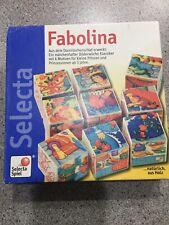 Fabolina German Wooden Fairytale 9 Block Puzzles Selecta Spiel 2498