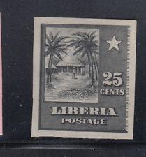 Liberia # 121 MINT Black Proof Circular House
