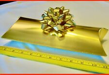 180ct Gift Pillow Boxes Metallic Gold 9x5x2 Buy a case or ask for 10 count +