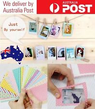 CUTE PHOTO STICKERS FOR POLAROID FILMS - FUJIFILM INSTAX MINI - ASSORTED 20 PACK
