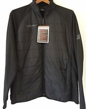 Men's Jacket ZERO XPOSUR Multisport Performance BLACK LIGHT WEIGHT Stretch LARGE