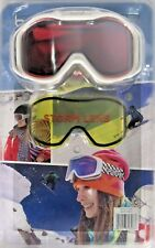 Bolle White Snowboard or Ski Goggle with Interchangeable Storm Lens