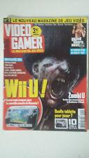 Magazine VIDEO GAMER N°1 - Janvier 2013 - ZOMBI U WII U GRAND THEFT AUTO 5