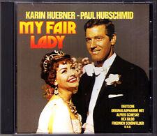 MY FAIR LADY  Deutsche Originalaufnahme Paul Hubschmid Karin Huebner Schieske CD