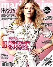MARIE CLAIRE (POCKET) N°740 AVRIL 2014  NOVOSELOVA/ MODE PRINTEMPS/ CASSEL