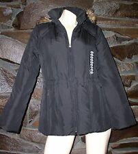DOWN AND FEATHER JACKET FAUX FUR LINING MARVIN RICHARDS SMALL NEW $ 99