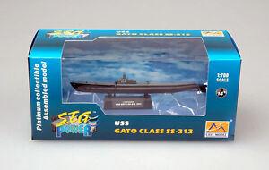 Easy Model - u-Boat Uss Gato Class SS-212 u Boat 1941 Finshed Model 1:700 Navy