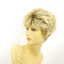 Perruque femme courte méchée blond racine blond foncé DANA YS