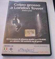 COLPO GROSSO A LONDON TOWER gioco pc originale ITA avventura game