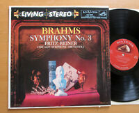 LSC-2209 Brahms Symphony no. 2 Fritz Reiner RCA ED1 Living Stereo Shaded Dog NM
