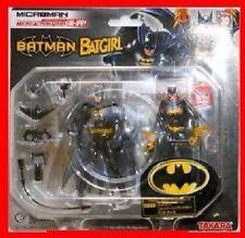 "TAKARA BATMAN & BATGIRL 4"" Japanese Microman action figure set! MIP! RARE!"