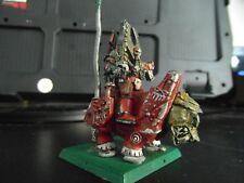 Rogue Trader 40k Chaos Space Marine Cuirassé champion (peint, métal)