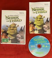 Shrek The Third Game for Nintendo Wii / Wii U PAL complete