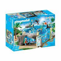 Playmobil Family Fun 9060 Aquarium Zoo Accessories & Figures Set