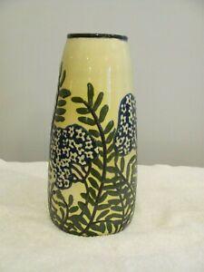 """Vintage 10"""" Vase by MAX LAUGER Bohemian Art Nouveau Czechoslovakia Austria"""