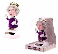 Queen Elizabeth Royal Highness Solar Powered Dancing Figure Collector Royalty