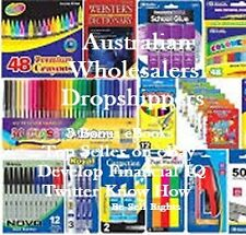 CD- Australian Wholesalers & Dropshippers - 4 eBooks (Resell Rights)