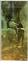 AFFIRMED & ALYDAR IN 1978 TRAVERS STAKES HORSE RACING PROGRAM!