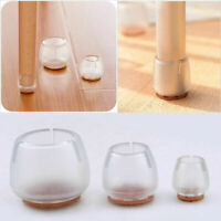 Chair Leg Silicone Caps Pad Furniture Table Feet Cover Wood Floor Protector End