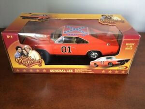 The Dukes of Hazzard Die Cast General Lee Echelle 1:18 Scale
