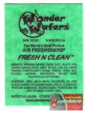 16- Wonder Wafers FRESH & CLEAN ~ Scent~Amazingly Fresh~ Air Freshener
