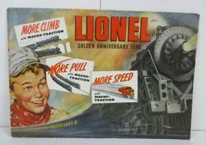 LIONEL 1950 CONSUMER CATALOGUE