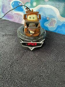 disney pixar cars Mater Clock Radio ( Rare )