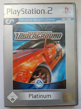 need for speed underground 2 ps2 ebay. Black Bedroom Furniture Sets. Home Design Ideas