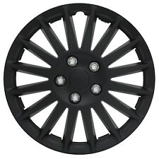 "15"" Inch Black Hubcaps Indy Wheel Rim Covers Set Of 4 New Cheap High Quality ABS"