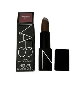 Nars Lipstick Rouge A Levres Maltese Red Satin Lipstick 2922 Brown Red Hues