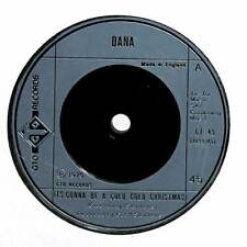 """Dana - It's Gonna Be A Cold Cold Christmas - 7"""" Record Single"""