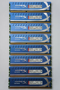 32GB Kingston HyperX Genesis DDR3 Memory 1600MHz C9 PC3-12800 KHX1600C9D3K8/32GX