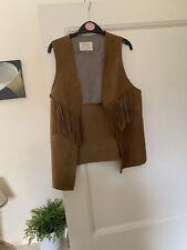 Zara Girl  Sleevless Jacket 13-14 Cowboy