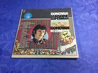 DONOVAN (2LP VINYL) SUNSHINE SUPERMAN [EPIC LIVE ALBUM HOLLAND **FOLK PSYCH]NM